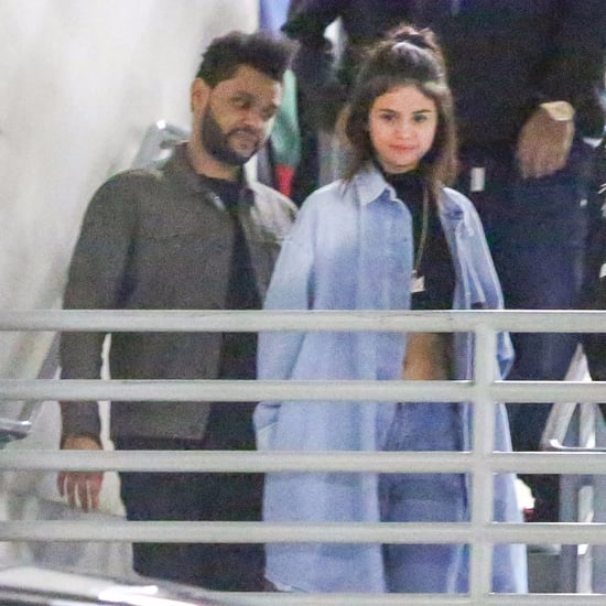 Selena Gomez and The Weeknd Holding Hands January 2017