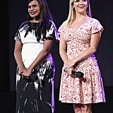Mindy Kaling and Reese Witherspoon's Cute Friendship Photos