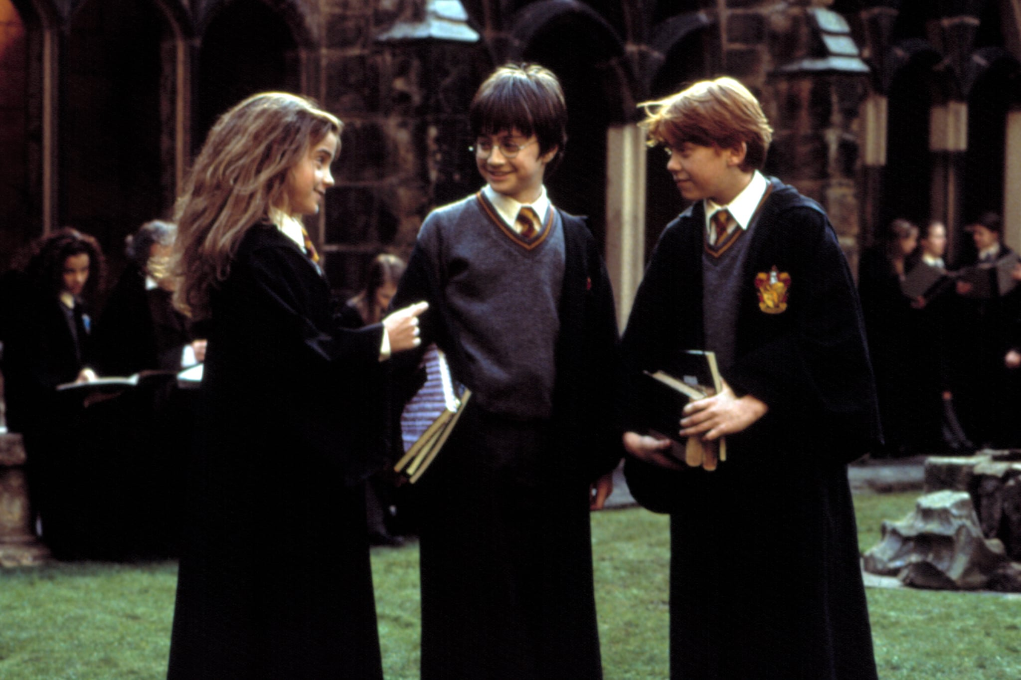 Harry Potter  films set in school