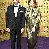 Fred Armisen and Natasha Lyonne at the 2019 Emmys