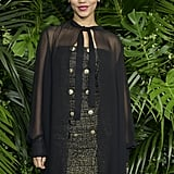 Taylor Russell at the 2020 Chanel and Charles Finch Pre-Oscar Awards Dinner