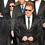 Ryan Kavanaugh heading to his wedding with Ryan Seacrest.