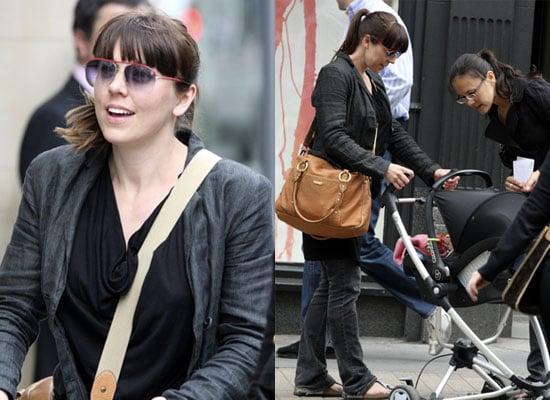 Photos of Mel C aka Sporty Spice Melanie Chisholm and Baby Scarlet