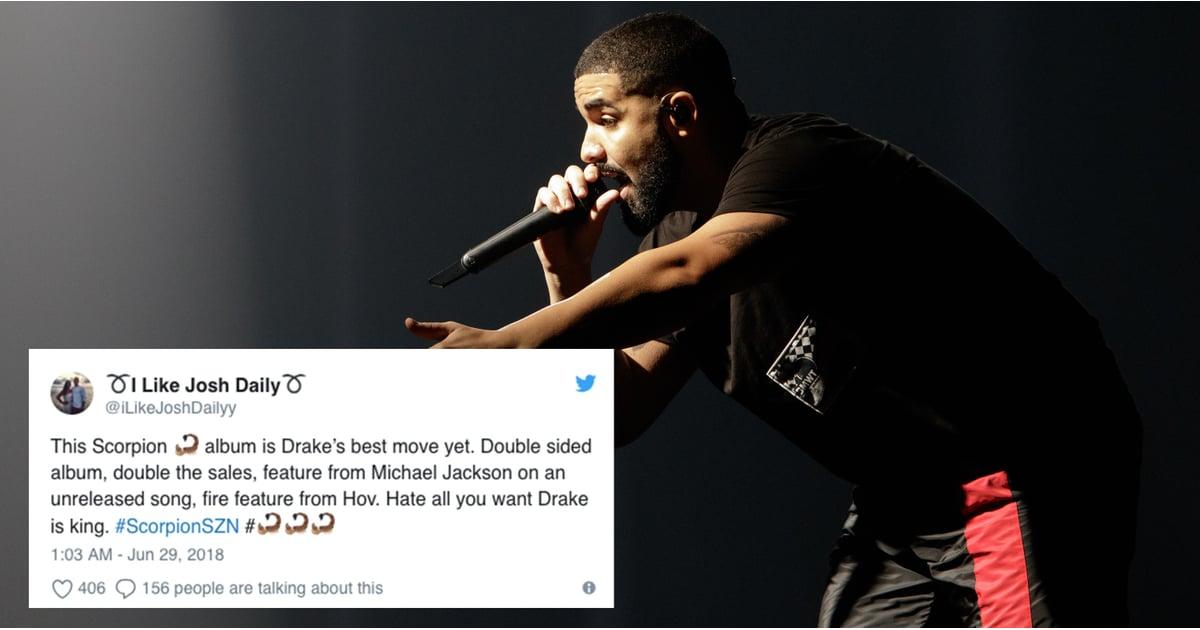 Reactions to Drake's Album Scorpion | POPSUGAR Entertainment