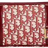 Christian Dior Diorissimo cloth clutch bag