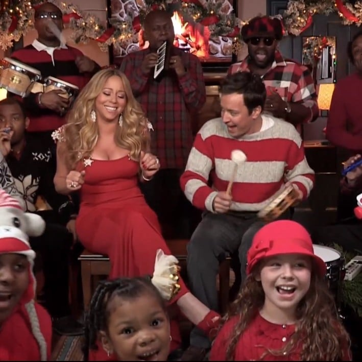 Mariah Carey and Jimmy Fallon Sing All I Want For Christmas ...