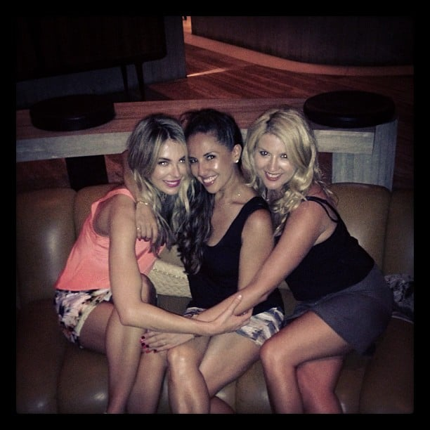 Jennifer Hawkins celebrated with girlfriends at Saké restaurant. Source: Instagram user jenhawkins_
