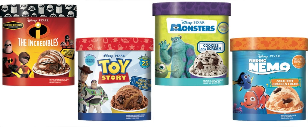 Disney and Pixar Ice Creams Include Finding Nemo and More