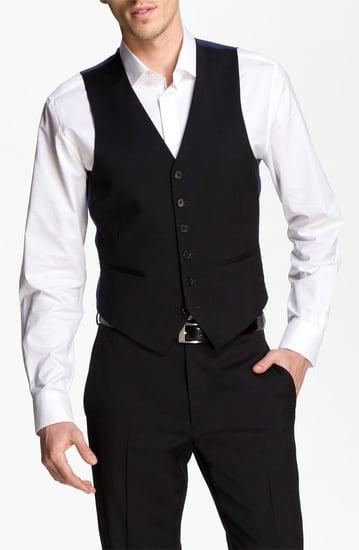 John Varvatos Star USA Wool Front Vest