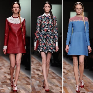 2013 Autumn Winter Paris Fashion Week: Valentino Runway