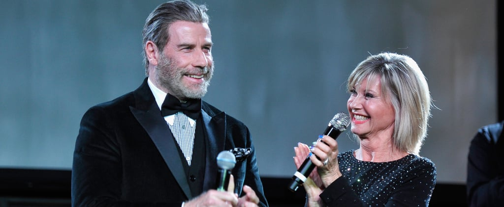 John Travolta and Olivia Newton-John at G'Day Black Tie Gala