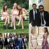 From Blair, Serena, and the gang in the many weddings of Gossip Girl to the uproarious bridal party in Bridesmaids, check out POPSUGAR Entertainment's roundup of the top wedding parties in movies and on TV!