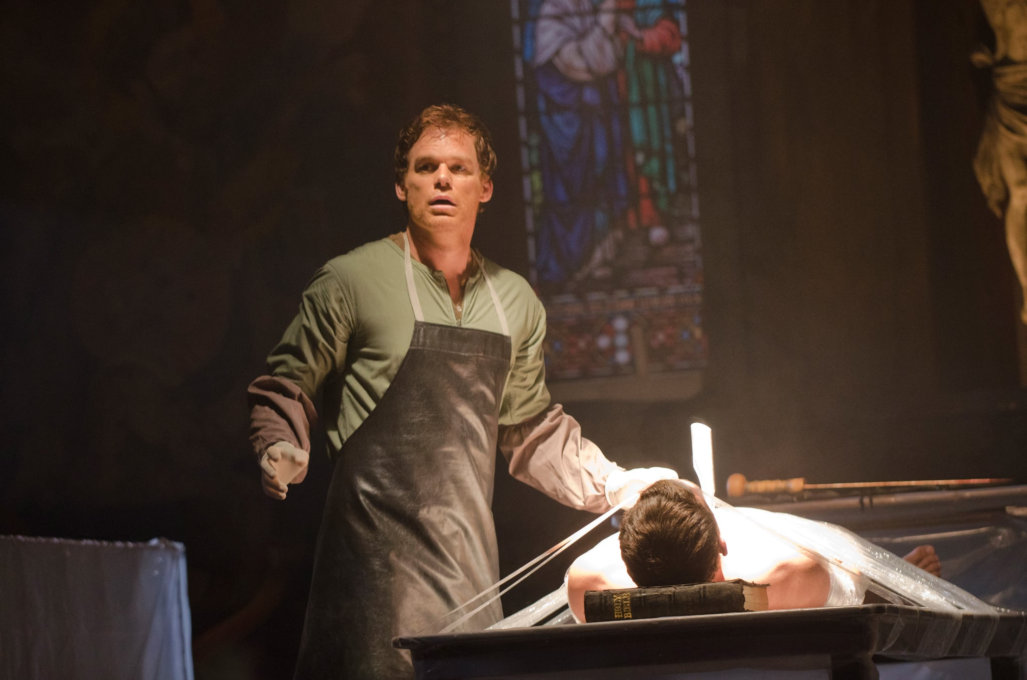 DEXTER, Michael C. Hall, 'Are You...?', (Season 7, ep. 701, airs Sept. 30, 2012), 2006-2013. photo: Randy Tepper /  Showtime / Courtesy Everett Collection