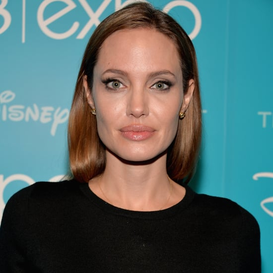 Angelina Jolie at Disney's D23 Expo 2013