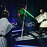 Star Wars Experience at Madame Tussauds in London, England