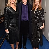 With Count Nikolai von Bismarck and Stella McCartney.