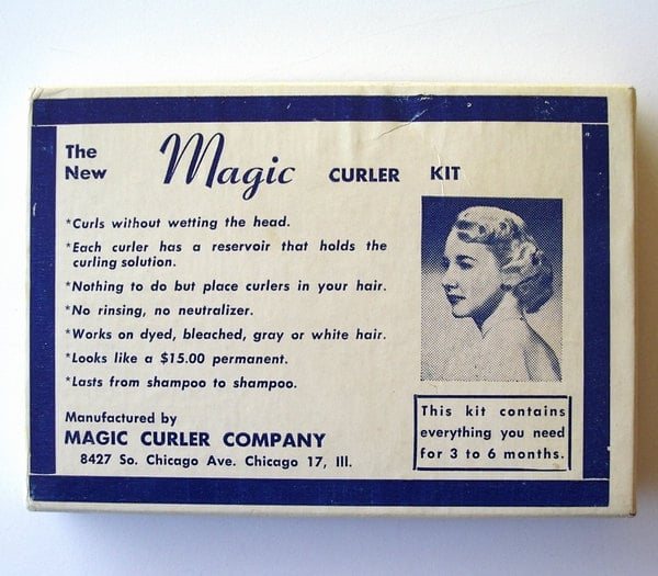 1950s Home Permanent Curlers