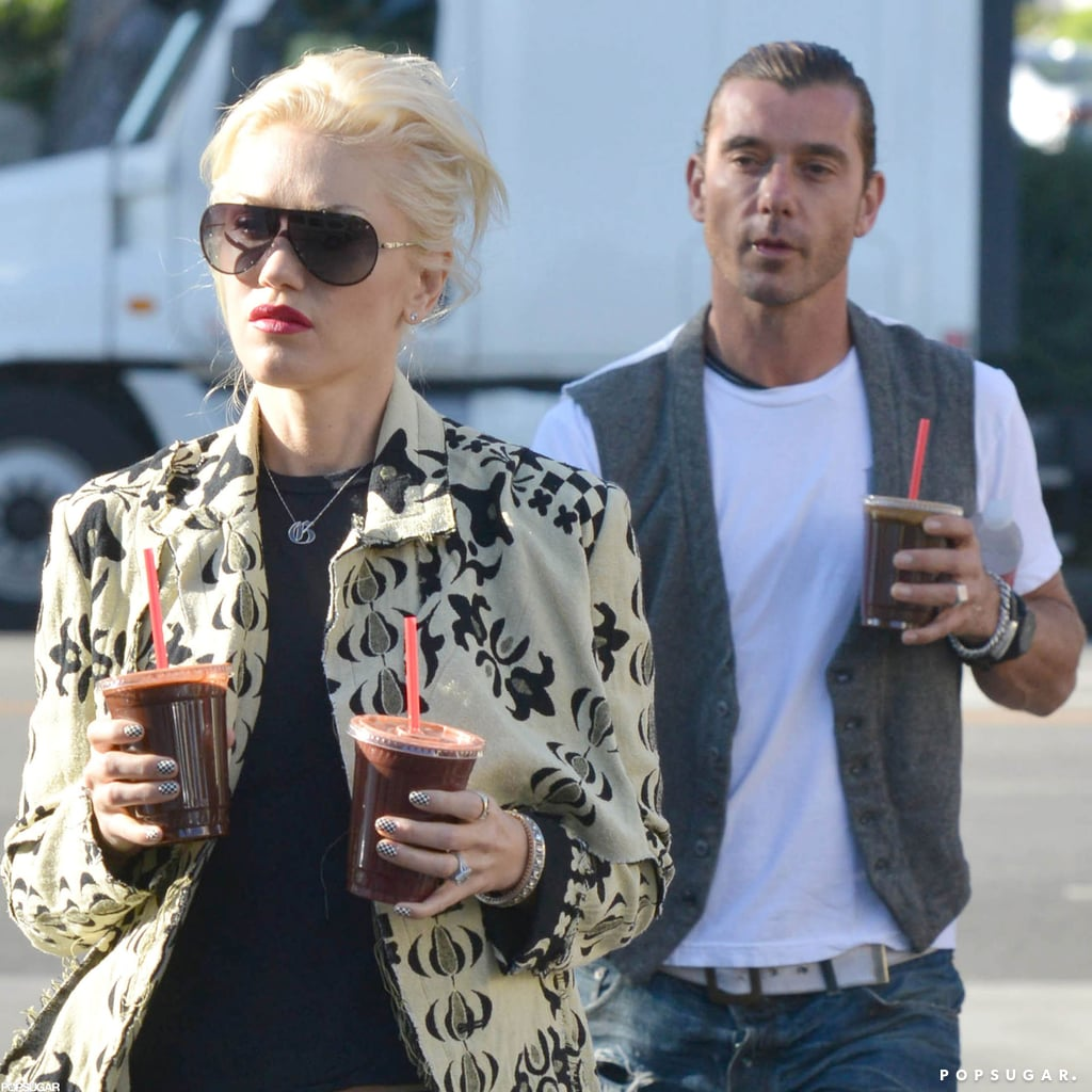 Gwen Stefani and Gavin Rossdale stepped out in Hollywood.