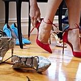 Soothe cracked heels overnight