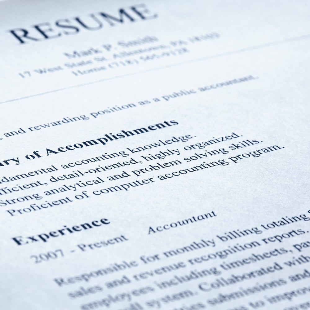 Keep It Simple  Free Resume Templates To Download  Popsugar Career