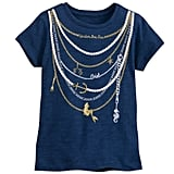 The Little Mermaid Necklace Tee