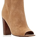 Sam Edelman Yarin Suede Open Toe High Heel Booties (£137)