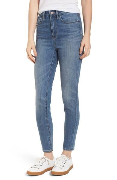 Charity High Waist Skinny Jeans