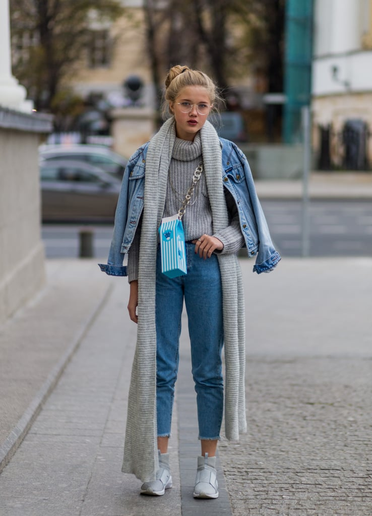 4701810718 Style Them With a Superlong Scarf