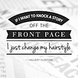 The politics of hair.