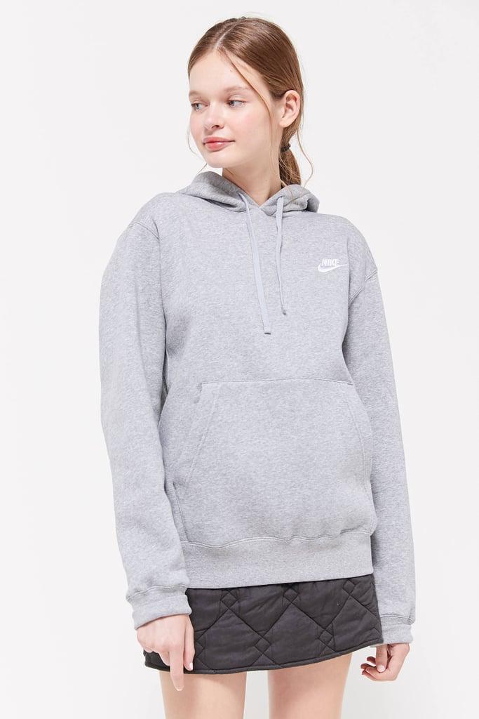 nike swoosh hoodie urban outfitters