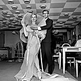 He outfitted dancer Tessa Beaumont at the House of Dior in September 1959.