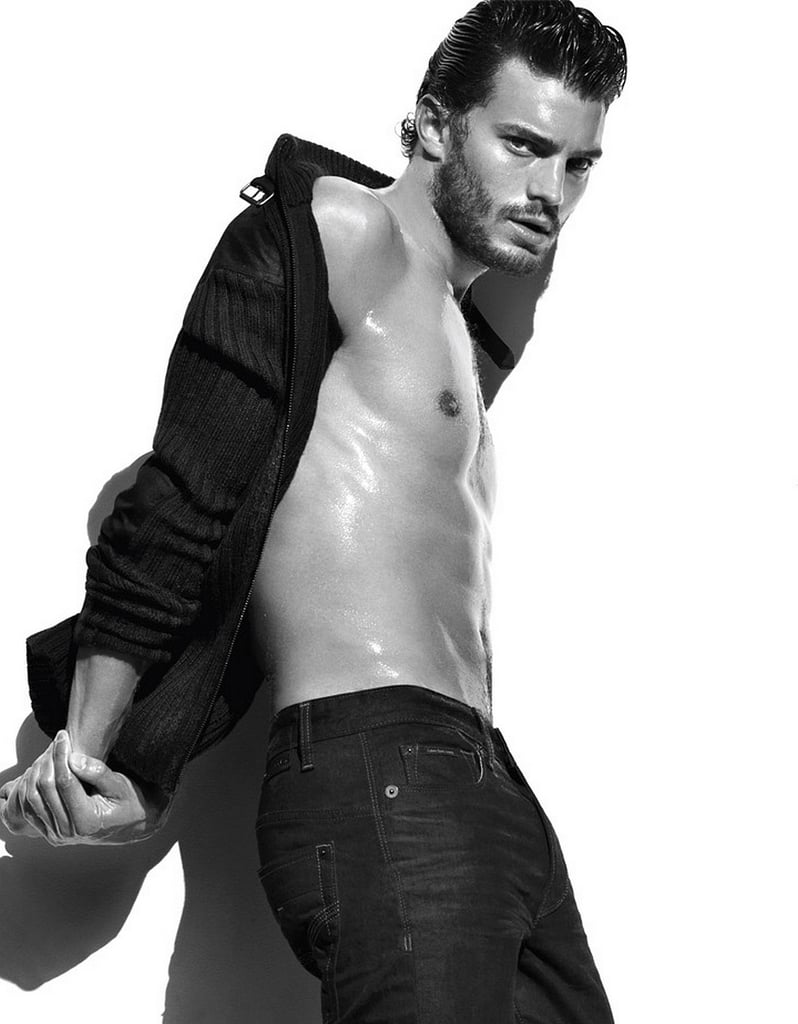 These Steamy Photos of Jamie Dornan's Sexy Body Will Have You Reaching For a Fan