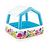 Intex Inflatable Ocean Scene Sun Shade Kids Swimming Pool