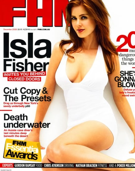 isla fisher does FHM Australia dec 2008