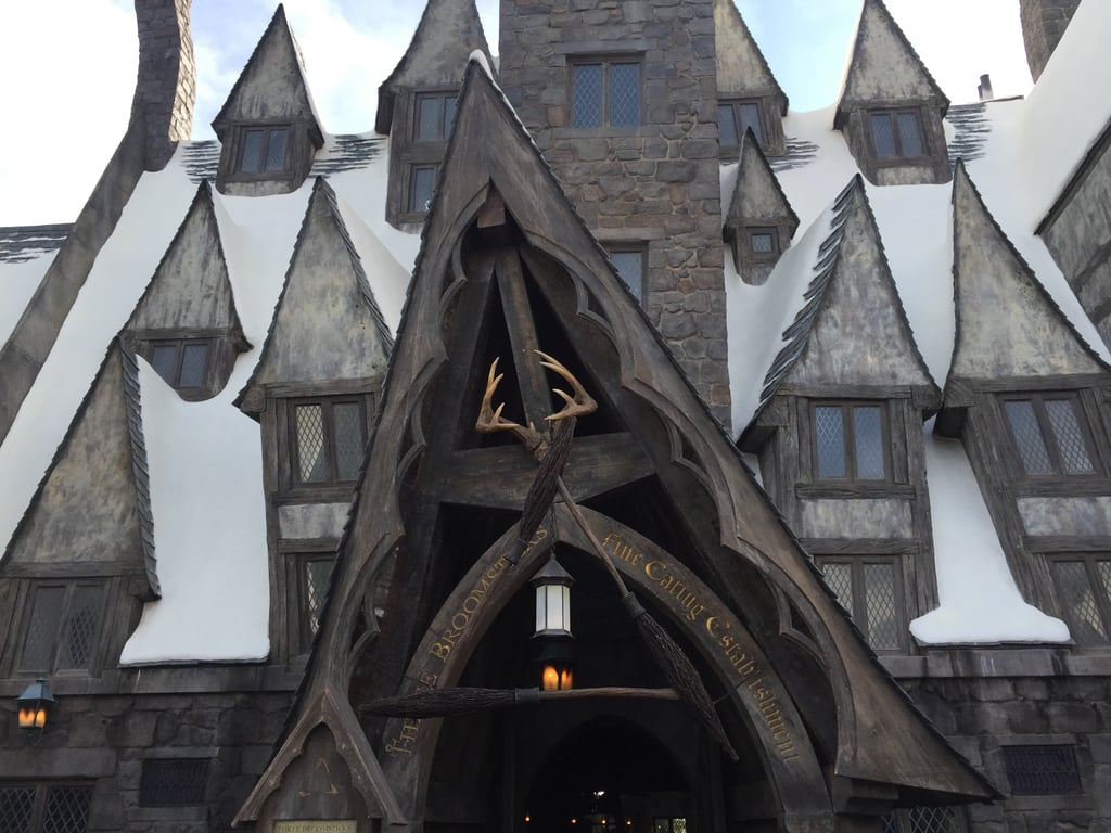 The Hogs Head is attached to the Three Broomsticks.