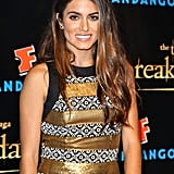 Nikki Reed wore a black and gold dress to the Breaking Dawn Part 2 party at Comic-Con.