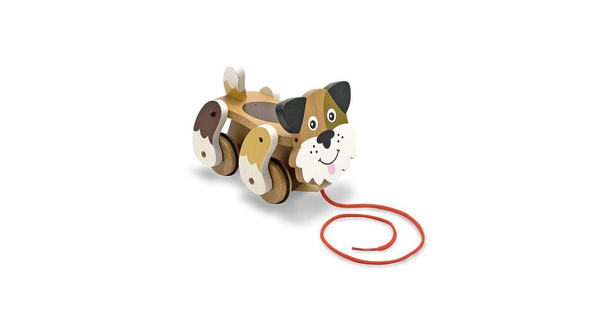 Melissa Doug Playful Puppy Pull Toy Gender Neutral