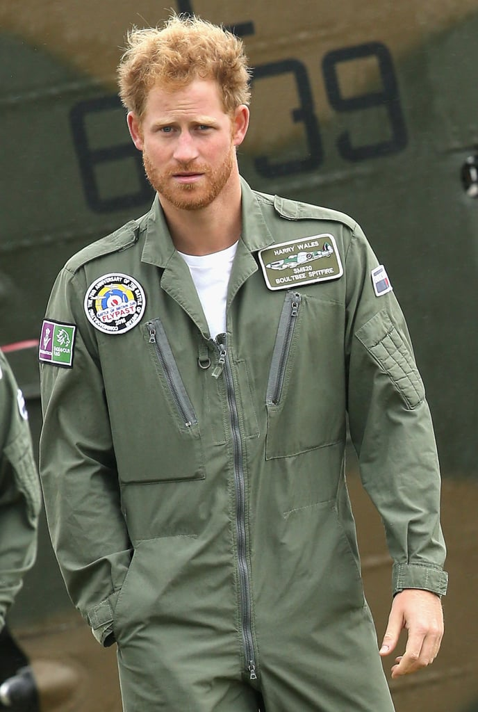 The Rugged Look Really Suits Prince Harry
