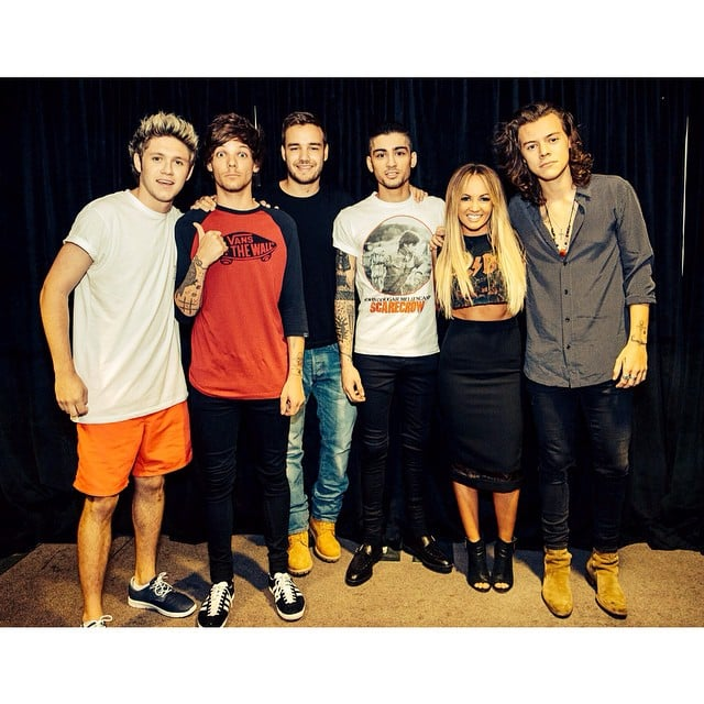 Singer Samantha Jade hung out with superstar band One ...
