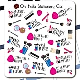 Makeup Planner Stickers