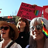Australians Rally For Marriage Equality in the Country's Largest LGBTQ+ Demonstration Ever