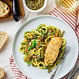 Italian Chicken With Zucchini Noodles