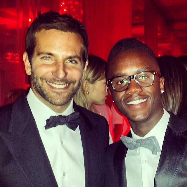 He and Bradley Cooper Both Wore Bow Ties