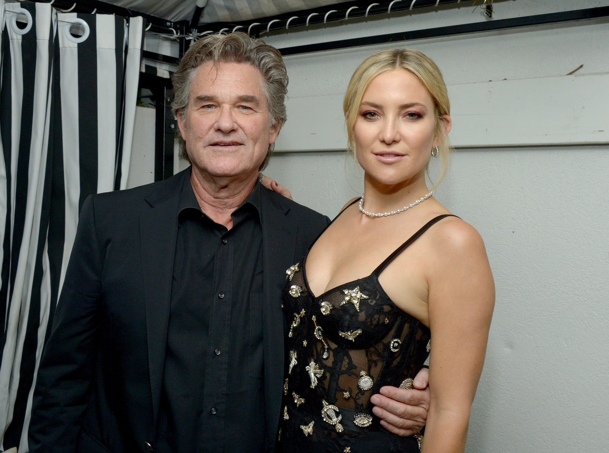 Kate Hudson Talks About Kurt Russell and Goldie Hawn 2017 ...