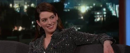 Anne Hathaway's Matthew McConaughey Impression 2019 Video