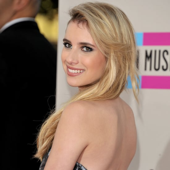 Emma Roberts Dress at American Music Awards 2013