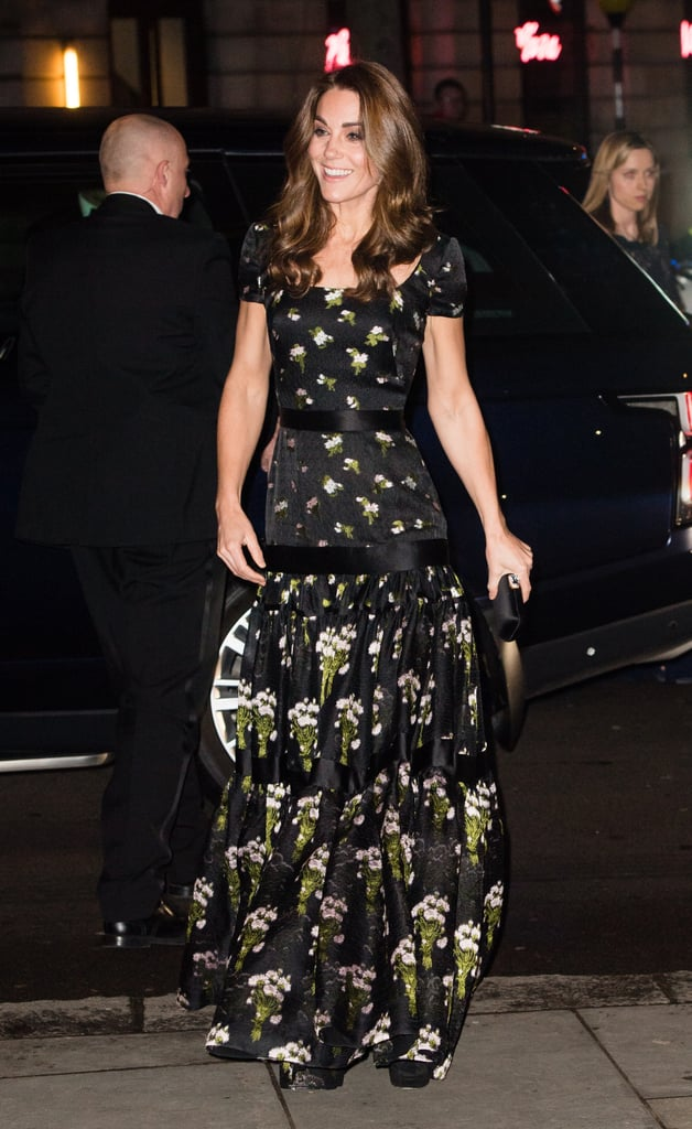 No rest for Kate Middleton! After attending Commonwealth Day service with the royal family on Monday, Kate Middleton pulled double duty the following day when she visited London's Henry Fawcett Centre and made a stunning appearance at the 2019 Portrait Gala later that evening. Clad in a black floral gown (which she first wore to the 2017 BAFTAs), the Duchess of Cambridge stepped out solo for the event and was all smiles as she made her way inside. This year's gala supports the Inspiring People project, which aims to help the gallery complete its renewal and refurbishment of the building.  Kate is a patron of the National Portrait Gallery, and it likely holds a special place in her heart, as it was one of the very first patronages she announced when she became a royal back in 2011. Fun fact: the mother of three studied art history at the University of St. Andrews, and one of her watercolors even appeared on the order of service at sister Pippa's wedding in 2017.       Related:                                                                                                           Kate Middleton's Daily Life Is Way More Normal Than You Think