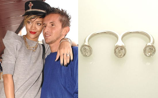 Rihanna Double Ring by Skinny