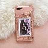 DIY Glitter Photo Cell Phone Case