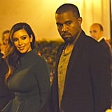 Kim Kardashian and Kanye West had a date night in Rome.